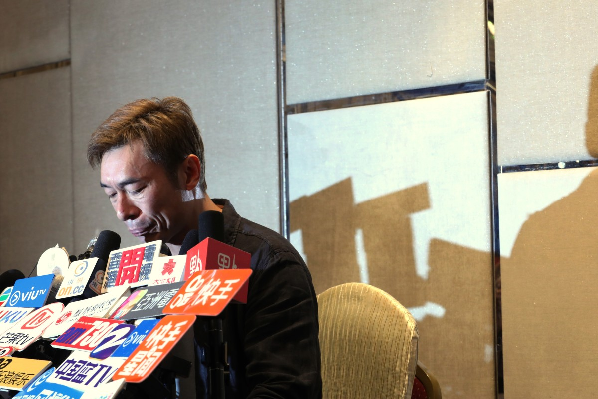 Hong Kong star Andy Hui's infidelity mocked by government