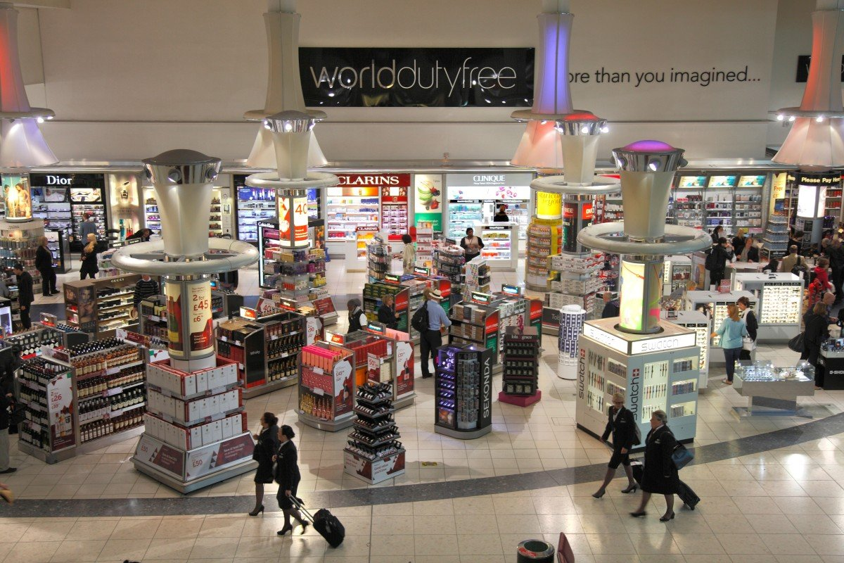 Five ways airports get us to spend money – they have been