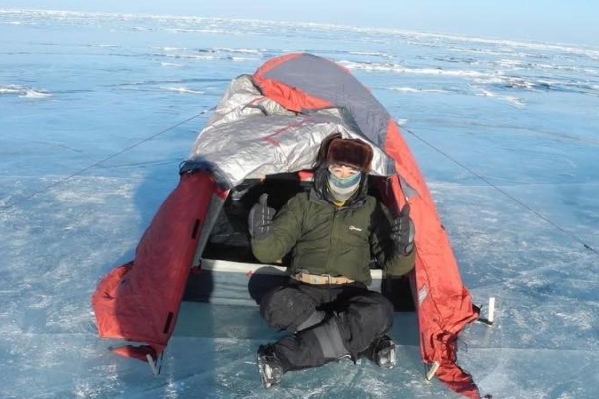 Adventures in the frozen wilderness: a Hong Kong man's trek across icy Lake Baikal gives him a new...