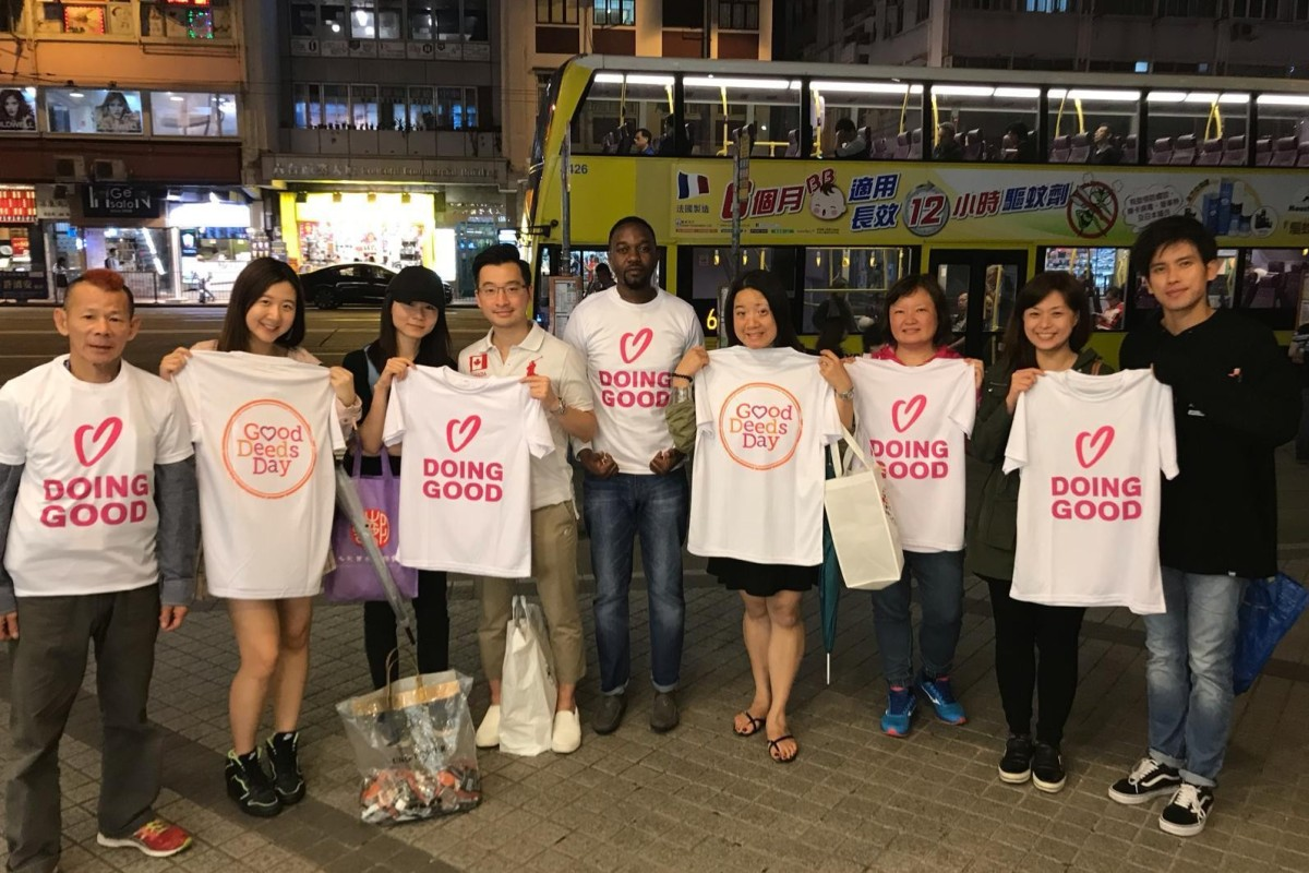 The Hong Kong NGO that shows employees and companies how volunteering to help the less fortunate can do...