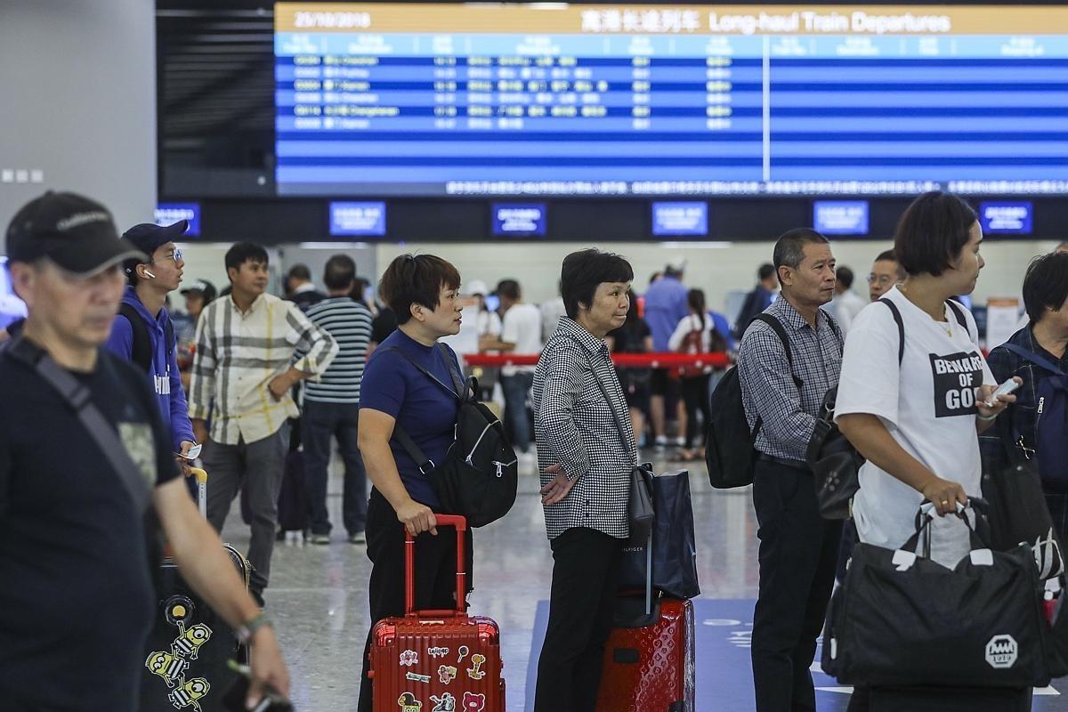 Guangzhou-Shenzhen-Hong Kong Express Rail Link may smooth pre-ordering ticket procedures – if passengers...