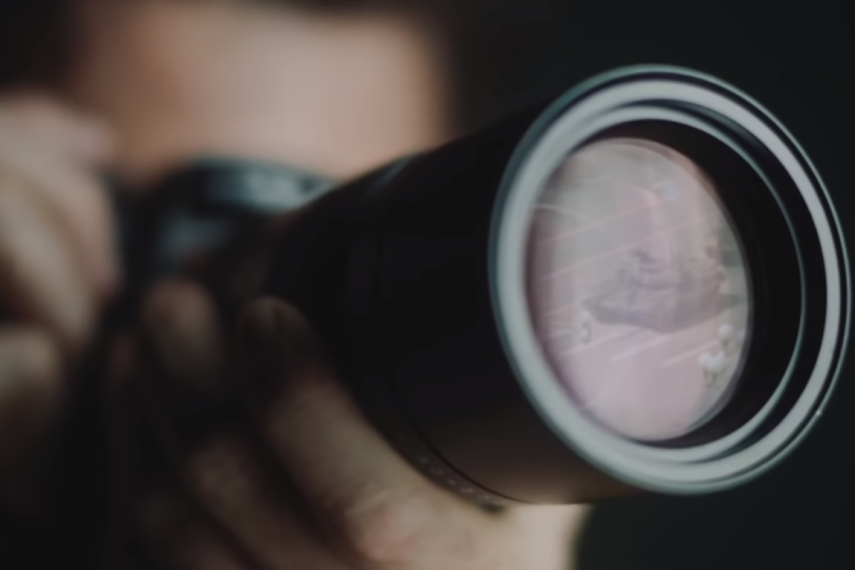 A still from the Leica promotional video The Hunt. Photo: YouTube