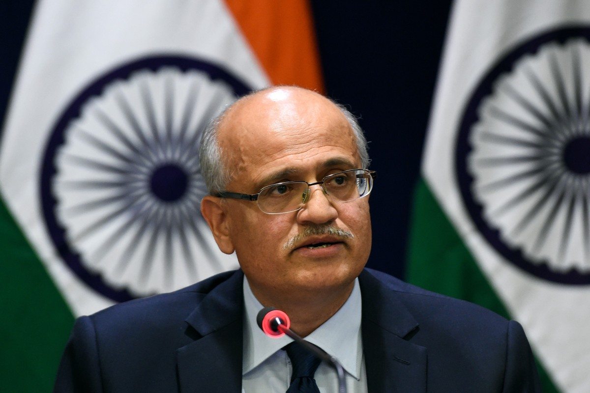 "Indian Foreign Secretary Vijay Keshav Gokhale will visit China as part of ""regular exchanges"" between the two countries. Photo: AFP"