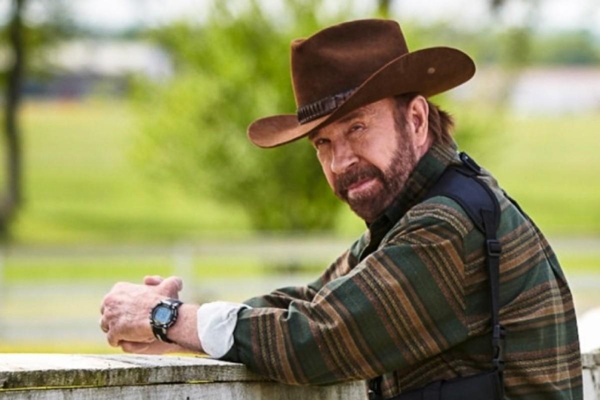 a9b620e23fc4 Chuck Norris is the new spokesman for gun manufacturer Glock. Photo   Instagram