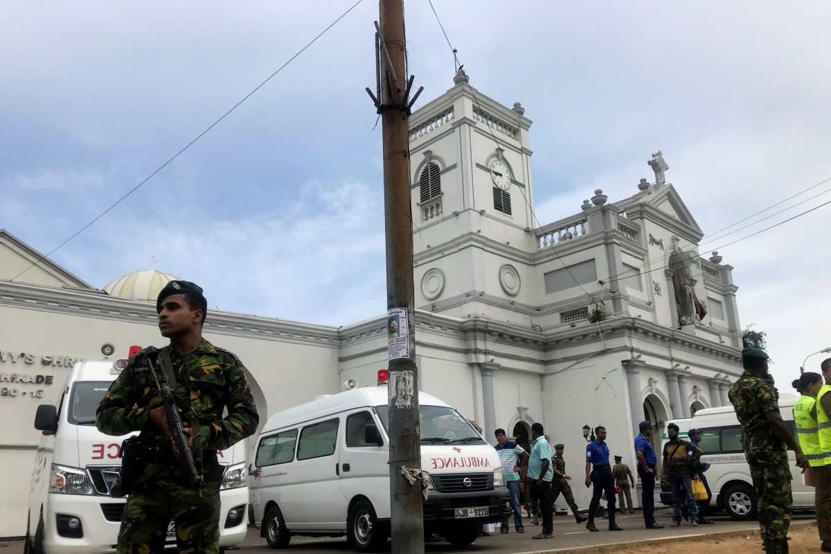 137 killed and hundreds wounded as multiple blasts hit churches and luxury hotels in Sri Lanka on Easter...