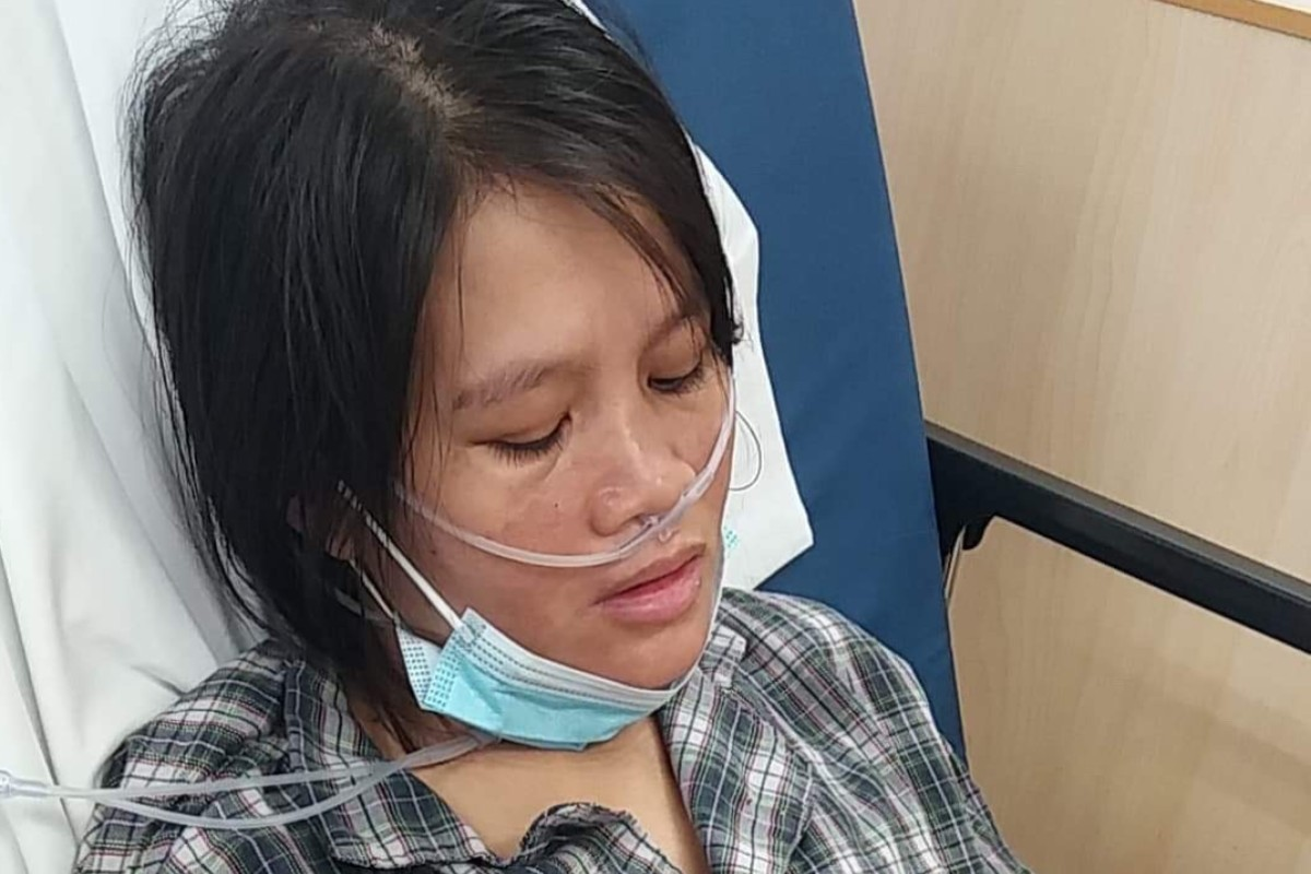Maristel Pepito Was Readmitted To Hospital In February But D Two Days Later Photo