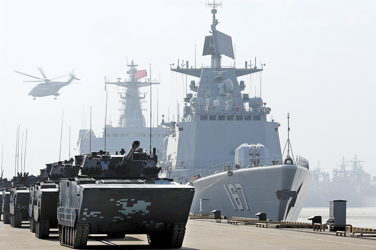 China's navy expands marine corps into own unit 'to defend maritime interests'