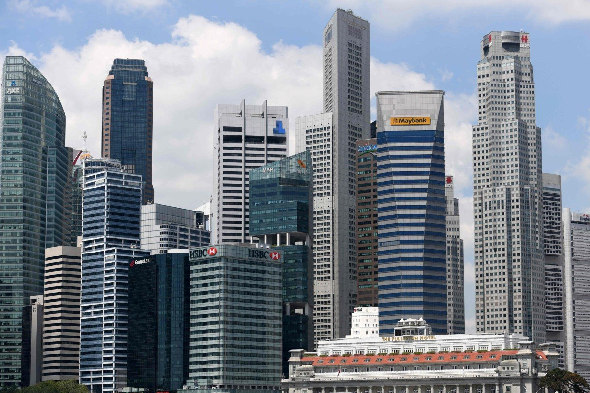 Ageing buildings in Singapore's business district get a lifeline
