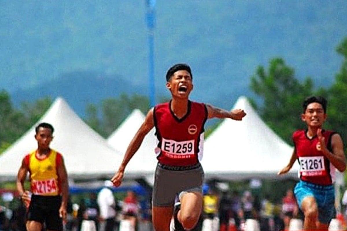 Malaysian teenager Muhammad Azeem runs 100m in 10 63