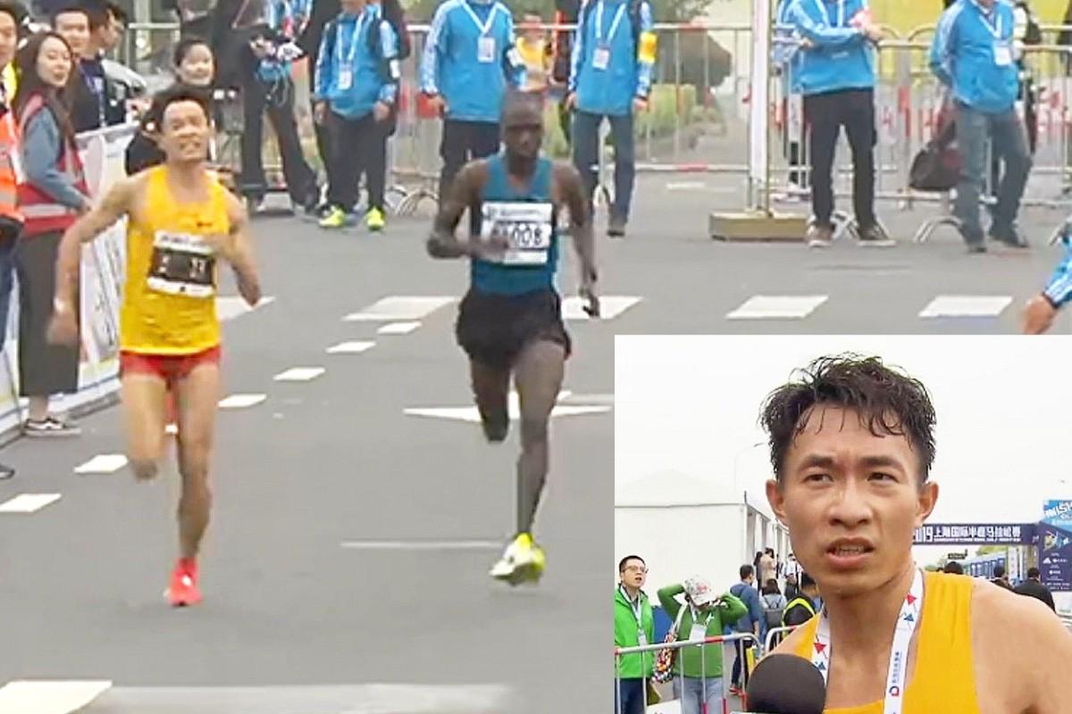 The runner with the runs: Chinese athlete suffers diarrhoea nightmare at Shanghai half marathon