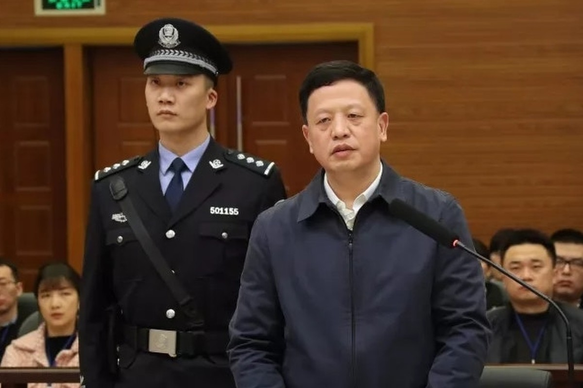 Chinese ex-official who collected rare orchids and Mao-tai jailed for 20 years for corruption