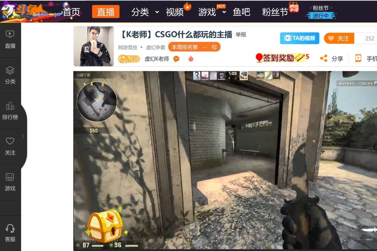 Marvelous Douyu Files For Us Ipo How Chinas Answer To Twitch Is Interior Design Ideas Ghosoteloinfo