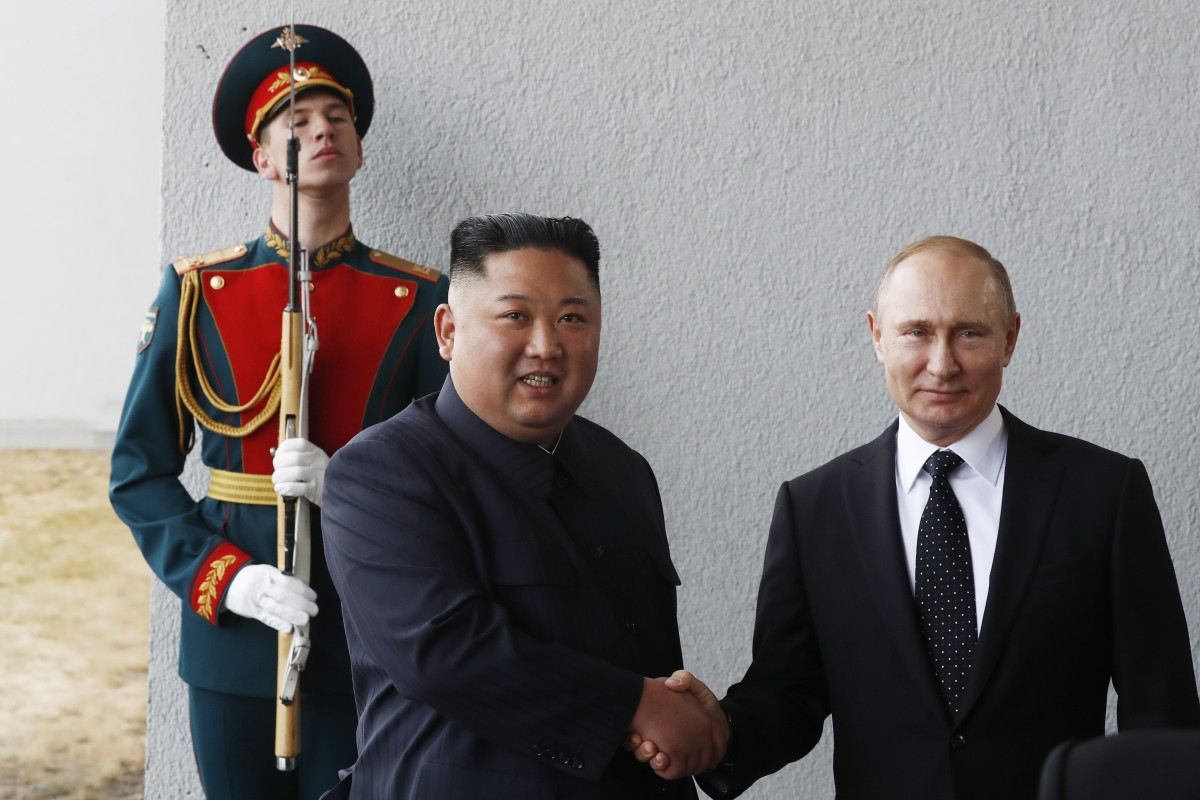 Vladimir Putin Kim Jong Un Summit What Do Both Sides Aim To Gain South China Morning Post