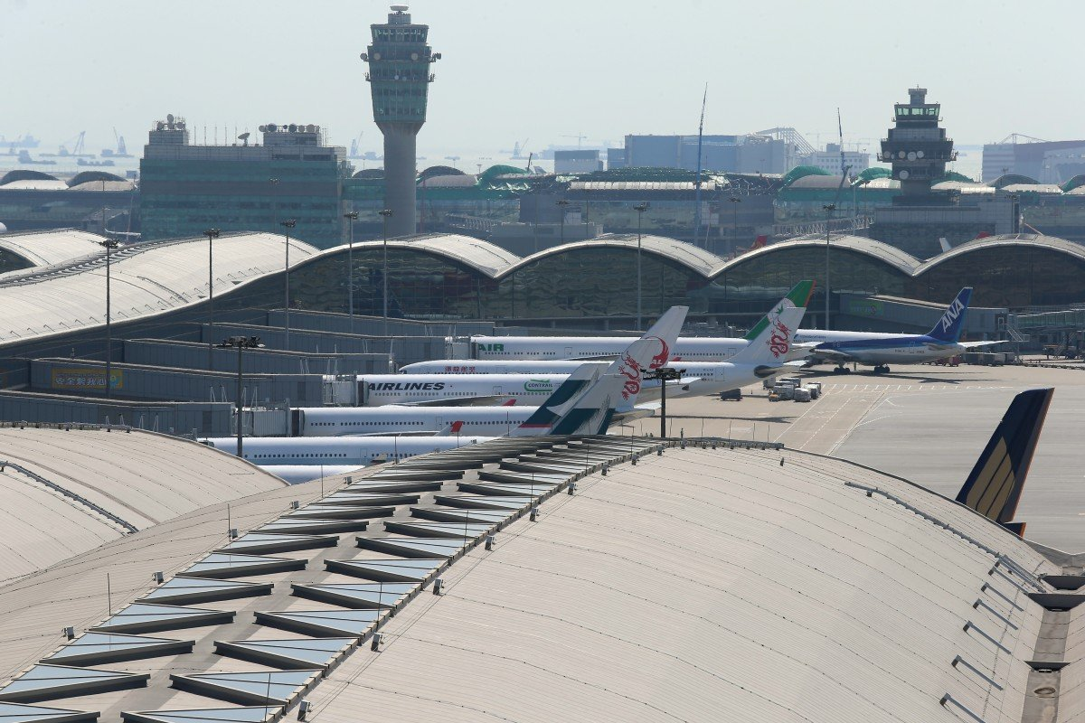 Reclamation work on Hong Kong's third runway delayed for over four months by suspended sand supply and bad...