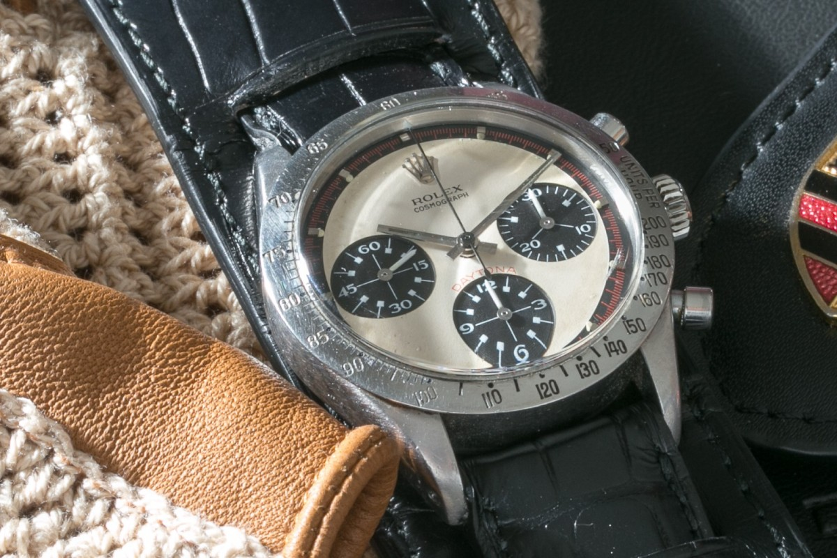 1f48238511b The Paul Newman Daytona that fetched US 17.8 million at auction in 2017.