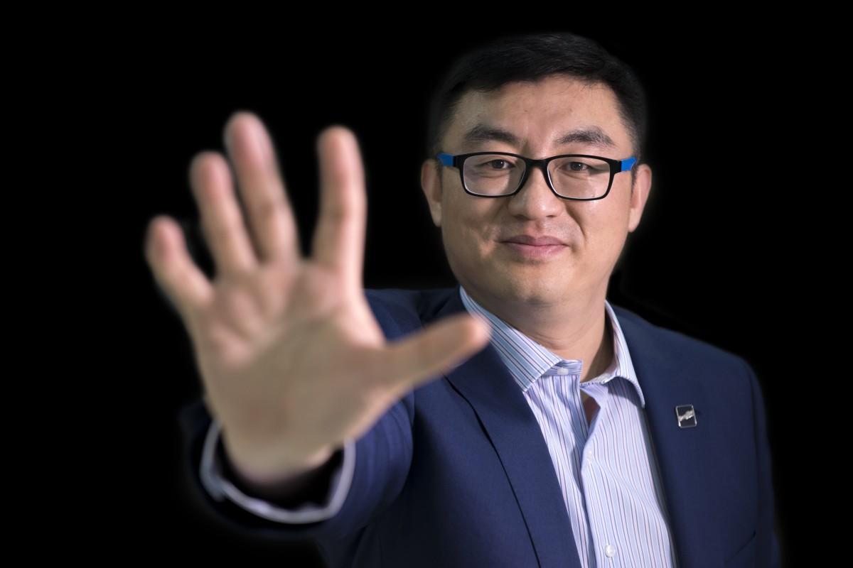 04184dd75e8 Chen Haibo, chief executive of DeepBlue Technology. Photo: Zigor Aldama