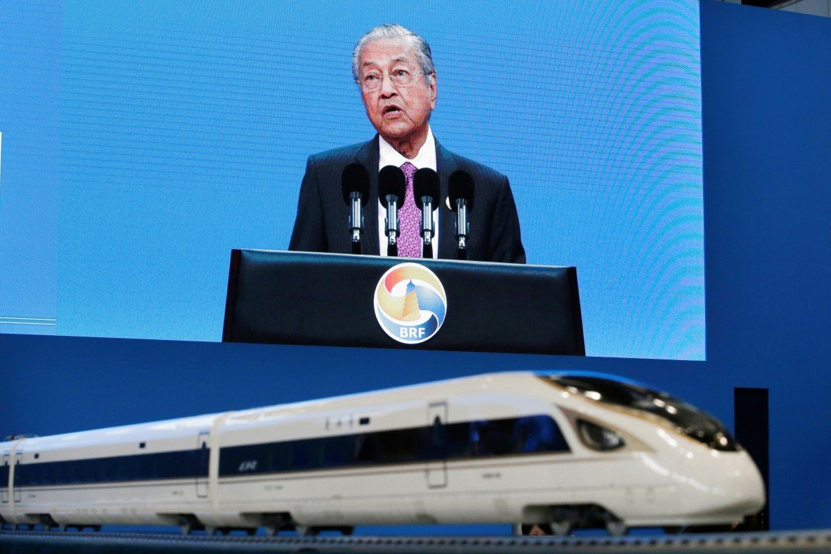 Malaysia's Mahathir backs China's belt and road but insists on open