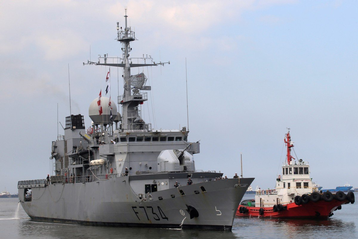 Paris upset Beijing earlier this month by sending its frigate Vendémiaire through the Taiwan Strait. Photo: Reuters