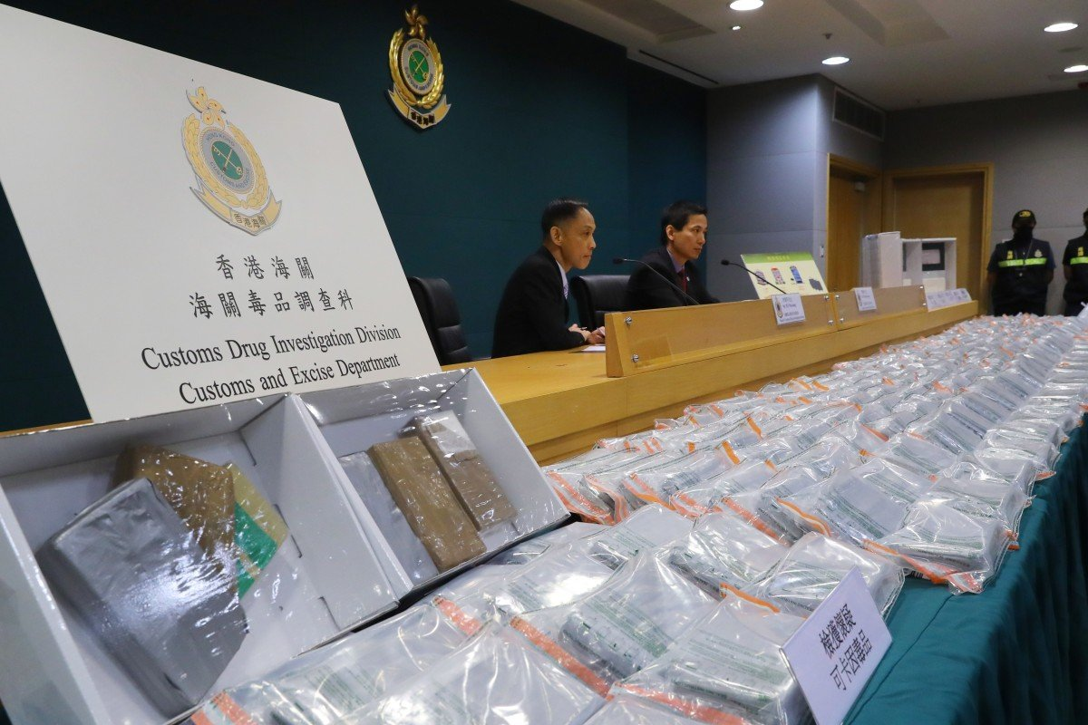 Cocaine traffickers go upscale: latest major bust in Hong Kong