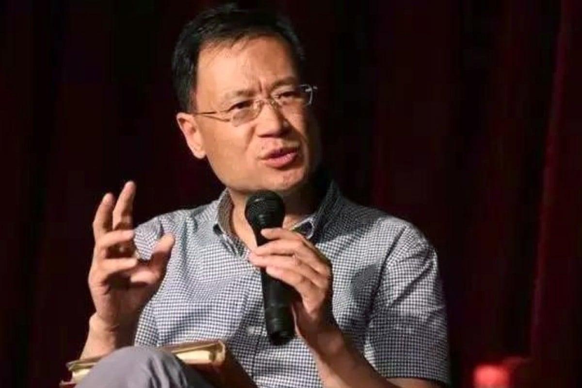 Suspended Tsinghua University law professor Xu Zhangrun is healthy and in high spirits, friends say. Photo: Sohu