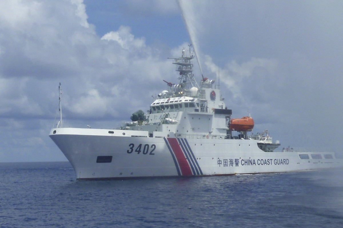 China's coastguard 'can expect military treatment' in South