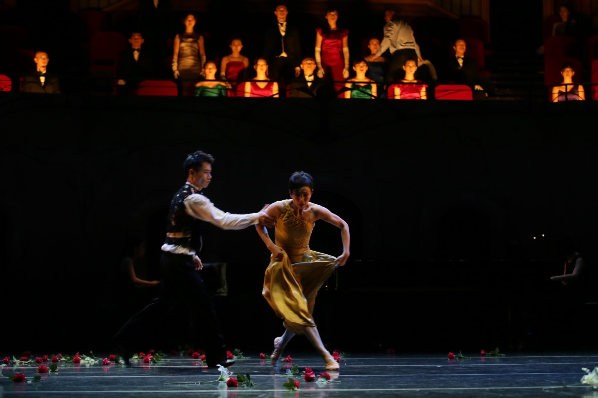 23668b7d33f A scene from City Contemporary Dance Company s The Rite of Spring (2019) by  Hong