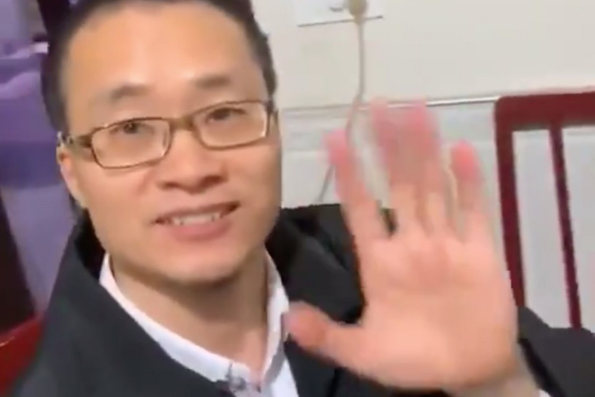 68a7fd05c18d1 Human rights lawyer Tang Jingling returned to his hometown in Jingzhou