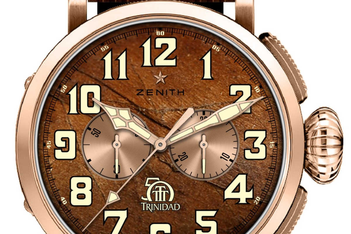 f39f11d26 The Zenith Pilot Type 20 Chronograph Trinidad Edition was made to mark the  50th anniversary of