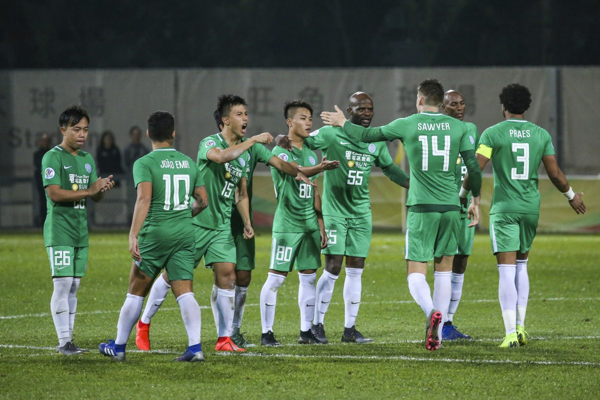 ab1d960df05 Wofoo Tai Po could become the first district club to win the Premier  League. Photo