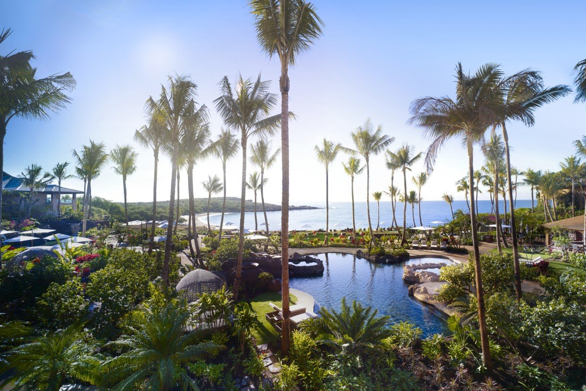 American billionaire Larry Ellison's Four Seasons Lanai in Hawaii is a playground for the rich and famous.