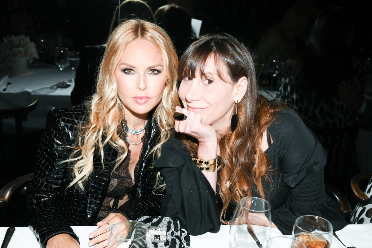 5aa5df41c34e4 Rachel Zoe and Jacqui Getty celebrate Tom Ford s launch of the Soleil  spring summer 2019