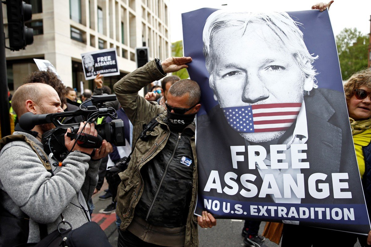 UN calls for WikiLeaks founder Julian Assange's release from