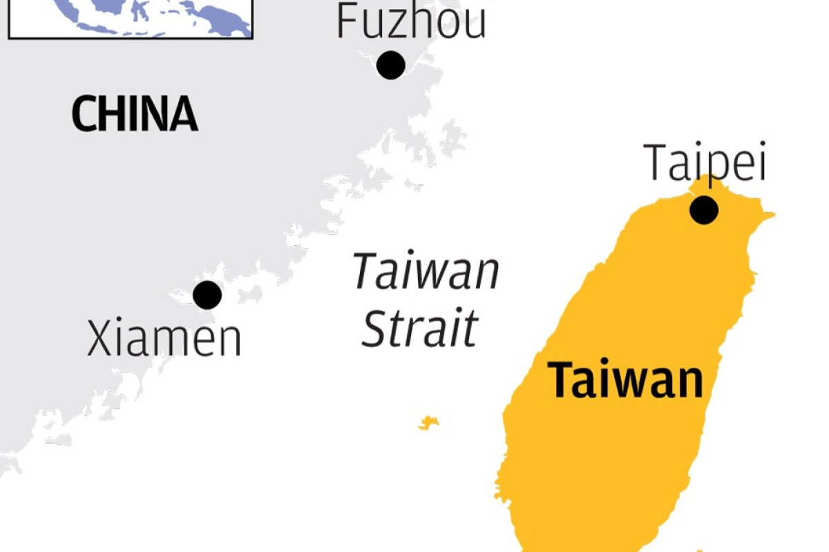 US warships made 92 trips through the Taiwan Strait since 2007