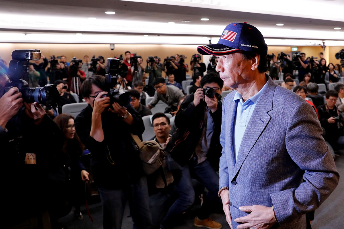 Recognise Taiwan's title and then we'll talk, billionaire Terry Gou tells Beijing