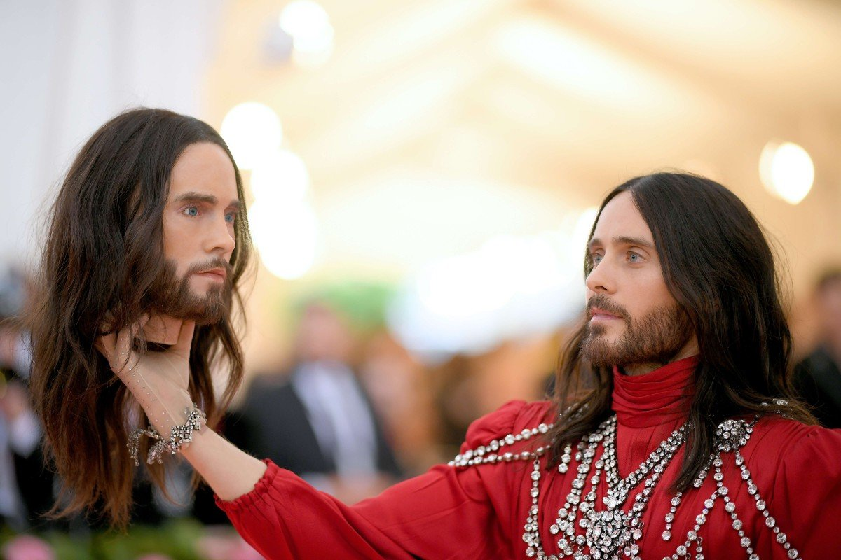 94e5a434888a8 Camping out at the Met Gala – from Jared Leto to Billy Porter
