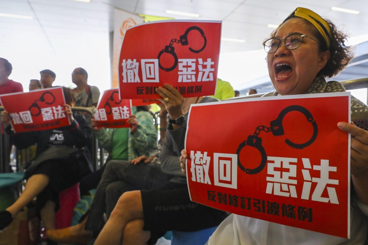 Opponents to Hong Kong's extradition bill are blind to