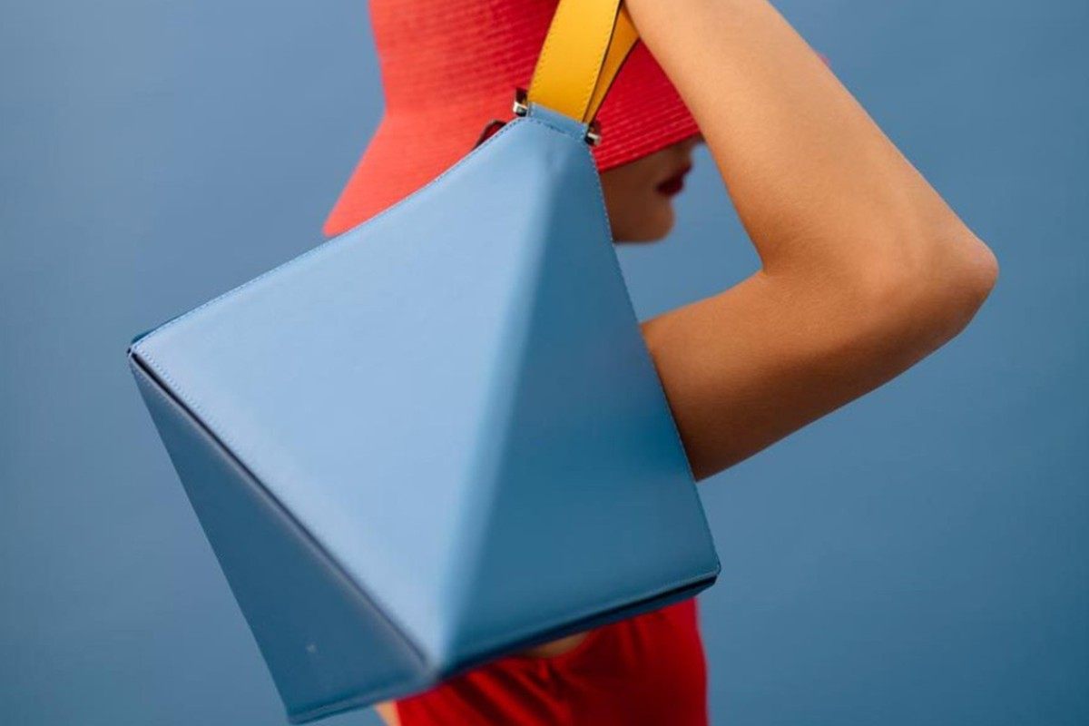 bbfe58007aca The Flex bag from Turkish brand Mlouye, one of five emerging handbag labels  for the