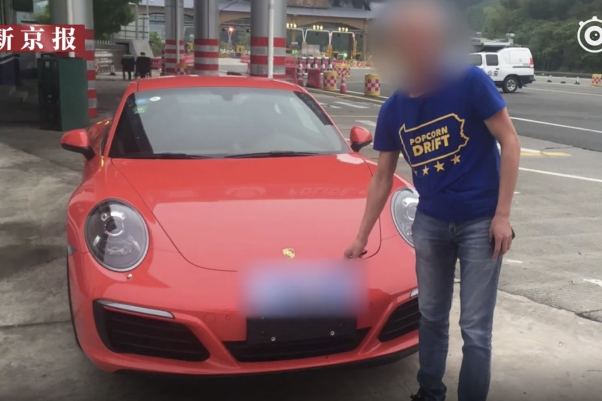 Chinese Porsche driver loses licence after listening to fortune-teller