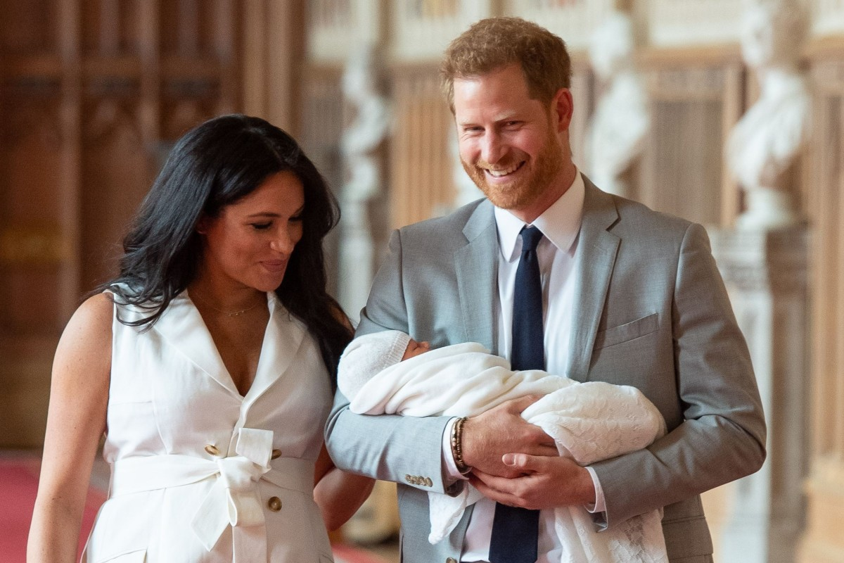 Britain's Prince Harry and Meghan, the Duchess of Sussex, name baby