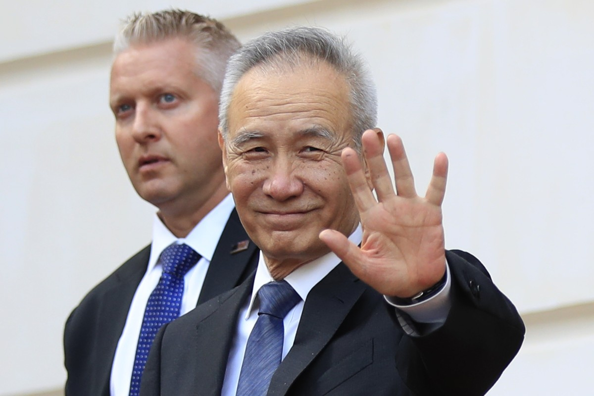 China's Vice-Premier Liu He 'came to US against pressure' to