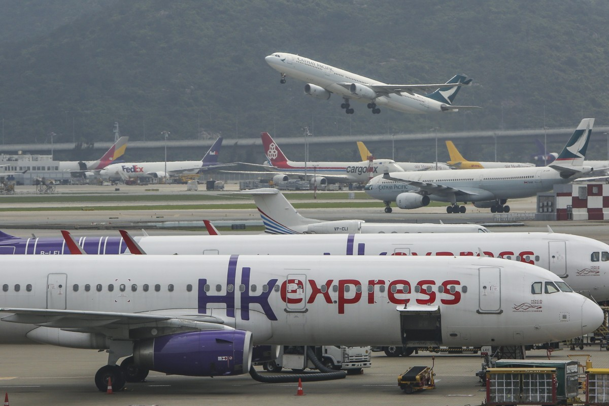 Cathay Pacific Airways 'perfectly comfortable' with HK Express purchase, says CEO Rupert Hogg, despite...