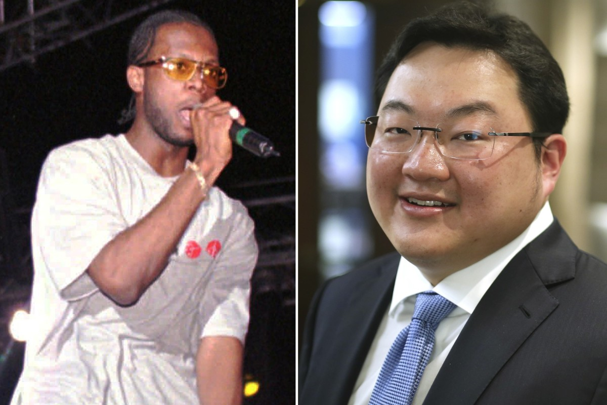 A combination image showing US rapper Prakazrel 'Pras' Michel and Malaysian businessman Jho Low. Photos: AP and SCMP