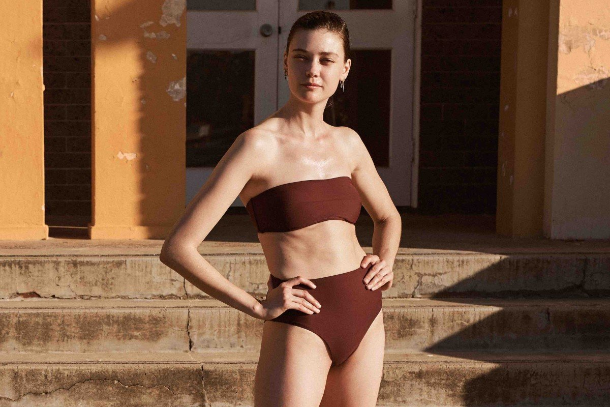 4d520a532b8 An outfit from emerging luxury brand Bondi Born's swimwear range, which  will be on show