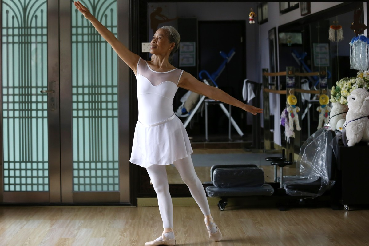 If I can open my eyes, I'll keep dancing': 70-year-old