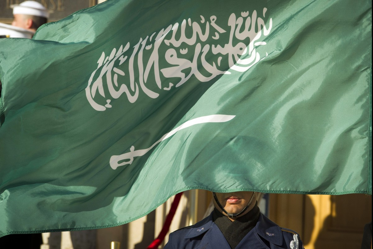 The flag of Saudi Arabia. Photo: AP