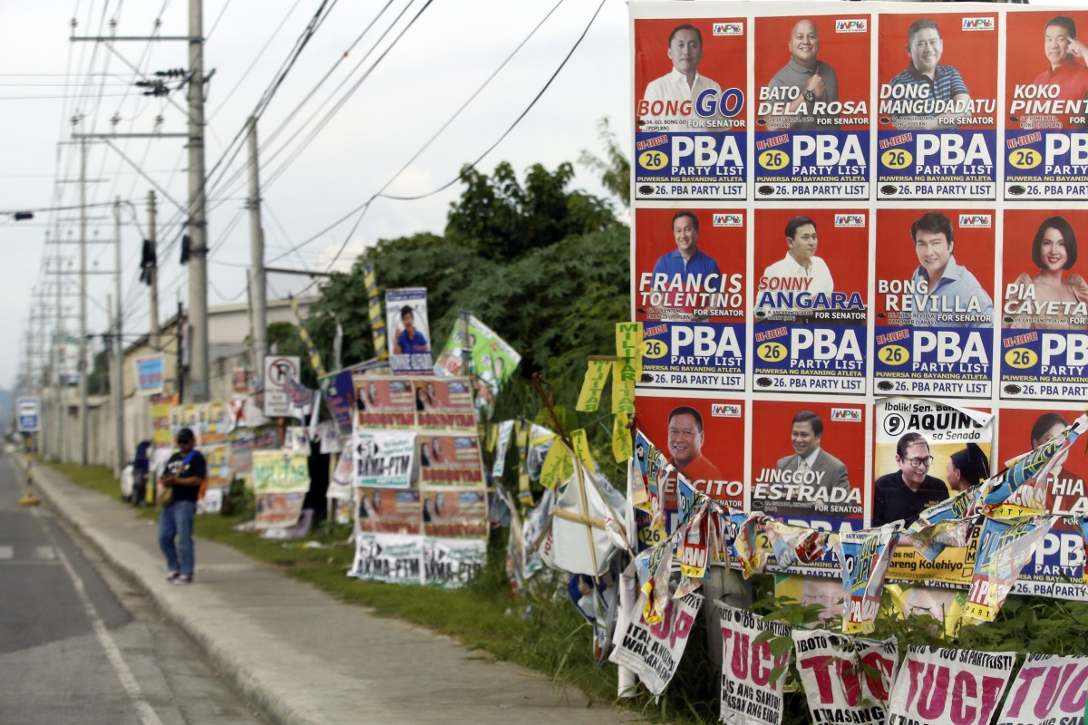 Slow start to Philippine midterm elections as 61 million voters decide whether to strengthen President...