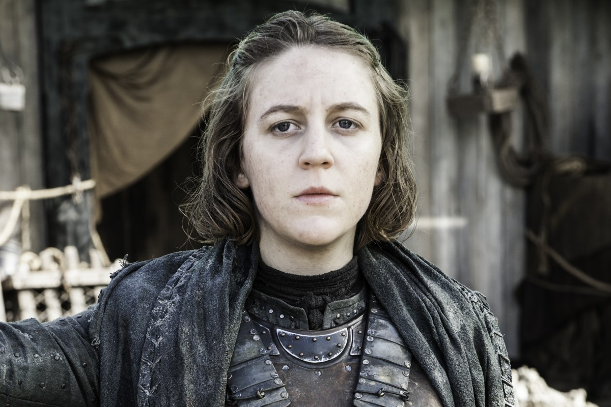 55127b4f5 Actress Gemma Whelan talks about Game of Thrones and her new role in  Gentleman Jack.