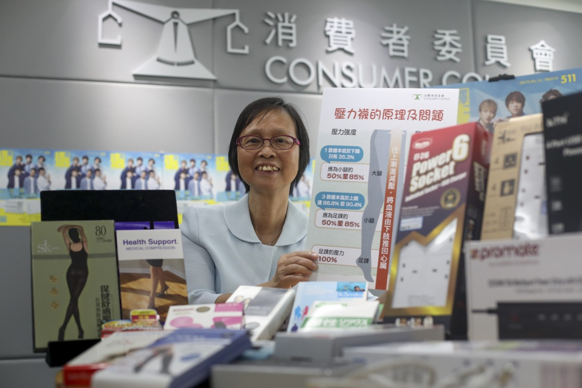 902b0fdf896ce6 Nora Tam, chairwoman of the Consumer's Council's research and testing  committee, revealed the watchdog's