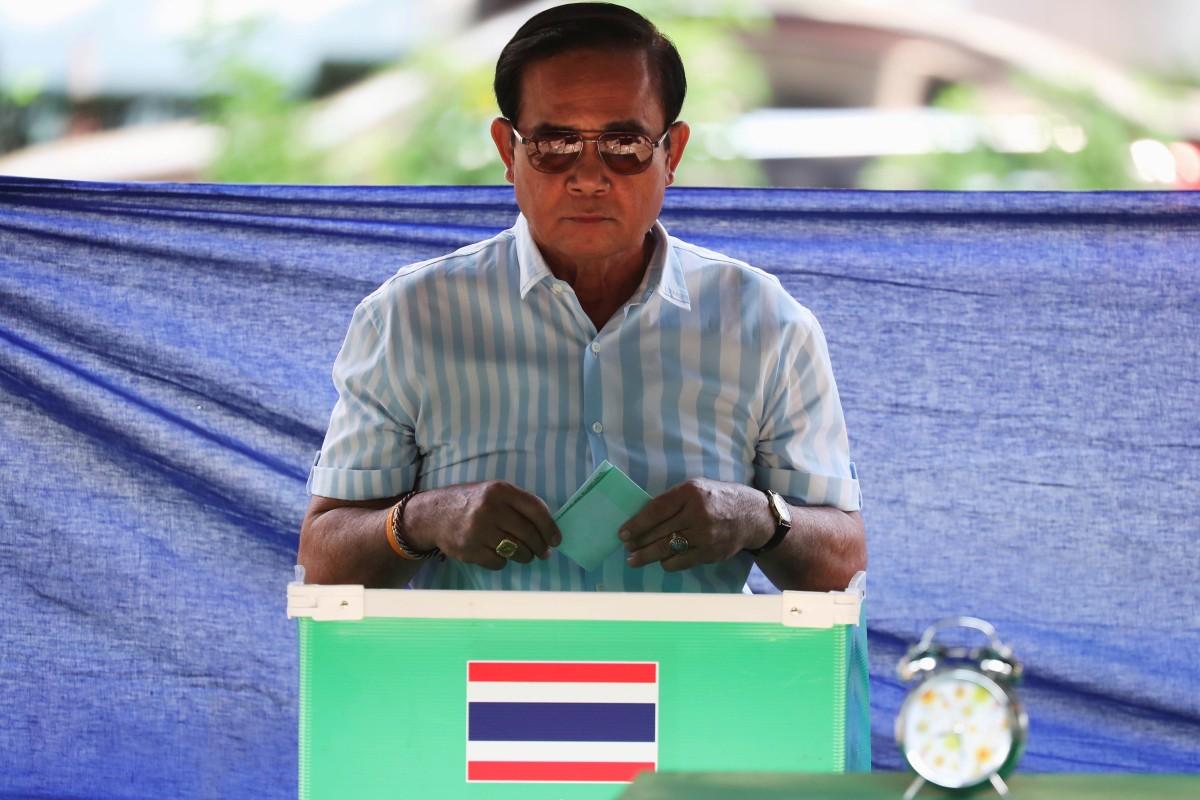 Thailand election: junta chief Prayuth Chan-ocha a shoo-in