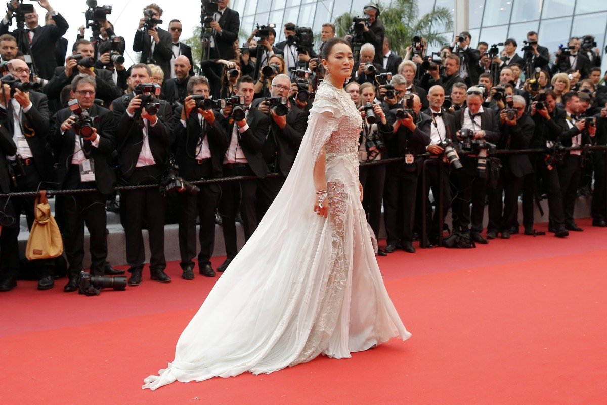 4e33b93b96 Chinese-Singaporean actress Gong Li walks on the red carpet as she arrives  for the